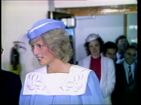 princess of wales opens the harris birthright research centre itn london king's college hospital harris birthright research centre ms princess of... - 1984 stock-videos und b-roll-filmmaterial