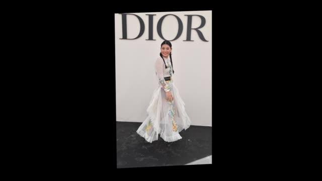 Princess Sirivannavari Nariratana attends the Christian Dior show as part of the Paris Fashion Week Womenswear Spring/Summer 2019 on September 24...