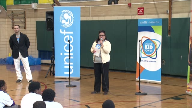 SPEECH Principal Denise Desjardin says the school is aimed at making its students become globalminded citizens and how participating in this program...