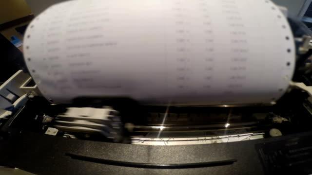 Printer printing paper