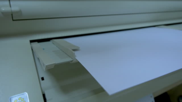 printer prints in braille - 2 angles - man made object stock videos & royalty-free footage