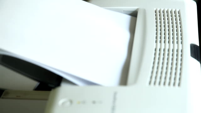 printer running - machinery stock videos & royalty-free footage
