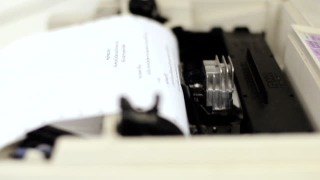 printer - printer occupation stock videos and b-roll footage
