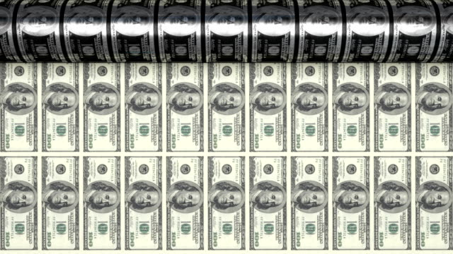 printing $100 bills - dollar symbol stock videos & royalty-free footage