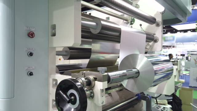 printing and packing machine from plastic roll - packet stock videos & royalty-free footage