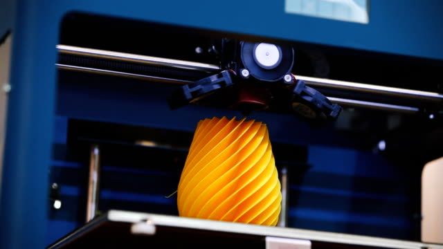 3d printing machine detail in action - 3d printing stock videos & royalty-free footage