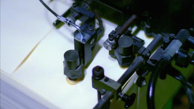 cu, ha, printing machine - 永久運動点の映像素材/bロール