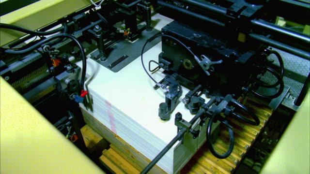 ms, ha, printing machine - 永久運動点の映像素材/bロール