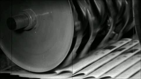 vídeos y material grabado en eventos de stock de impresión de periódicos - anticuado