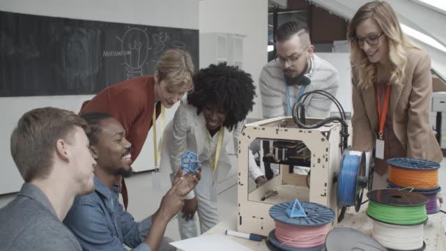 4K: 3D Printing Startup Business.