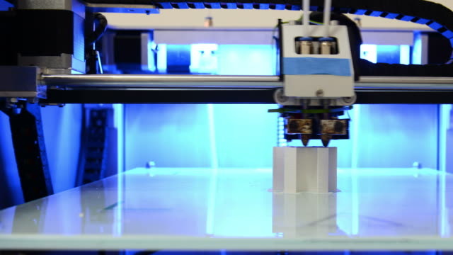 timelapse: 3d printing - 3d printing stock videos and b-roll footage
