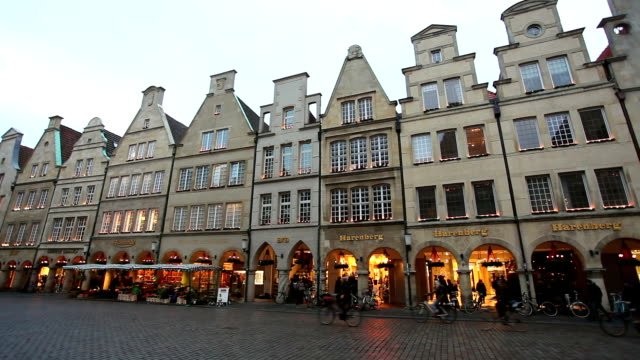 Prinzipalmarkt in Münster, Germany - Real Time