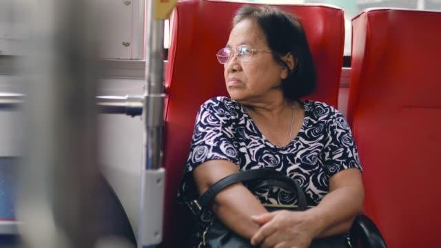 priority seat - bus stock videos & royalty-free footage