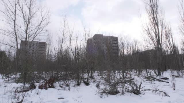 stockvideo's en b-roll-footage met pripyat stad - kernramp van tsjernobyl
