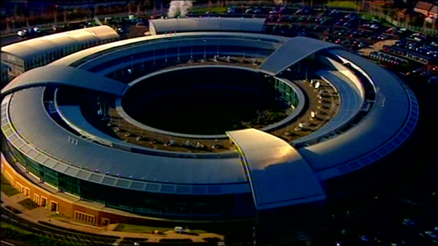 America urges Hong Kong to extradite Edward Snowden R01011206 / 2012 Gloucestershire Cheltenham GCHQ Government Communications Headquarters building