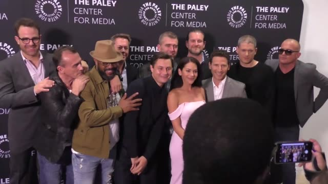 prison break cast at the 2017 paleylive la spring season 'prison break' screening and conversation on march 29 2017 in beverly hills california - cast member stock videos & royalty-free footage