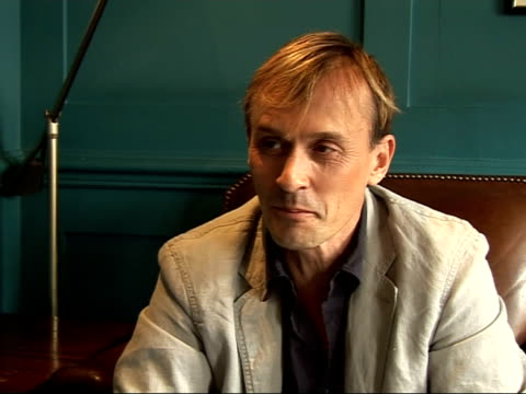 prison break's robert knepper interview is going to back to dallas to shoot a third season but not sure how long his character will last / realises... - prison break stock videos & royalty-free footage