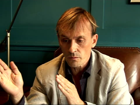 prison break's robert knepper interview talks about his character's psychopathy and the character's life as a little boy / likes to have the... - psychopathy stock videos and b-roll footage