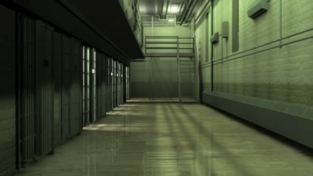 ds, prison hallway, brooklyn, new york, new york city, usa - prison stock videos & royalty-free footage