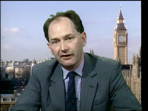 stockvideo's en b-roll-footage met prison governors faced with record number of inmates criticise government plan england london westminster int cms michael forsyth mp intvwd sot there... - table top view
