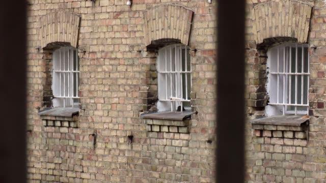 prison windows - prison window stock videos & royalty-free footage