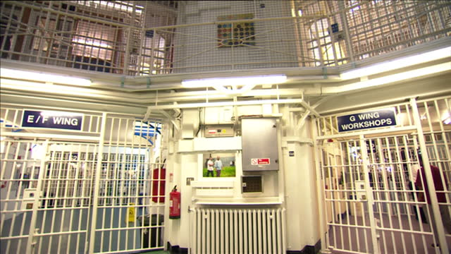prisoners in england and wales are to be forced to work harder for access to tv and the gym in a crackdown on privileges behind bars violent films... - prison reform stock videos & royalty-free footage