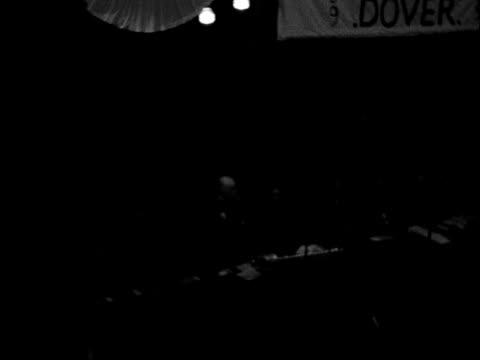 annual conference of prison officers' association england kent dover ext gv 13th century moat hall in dover dr geoffrey fisher speaking tbv audience... - vallgrav bildbanksvideor och videomaterial från bakom kulisserna