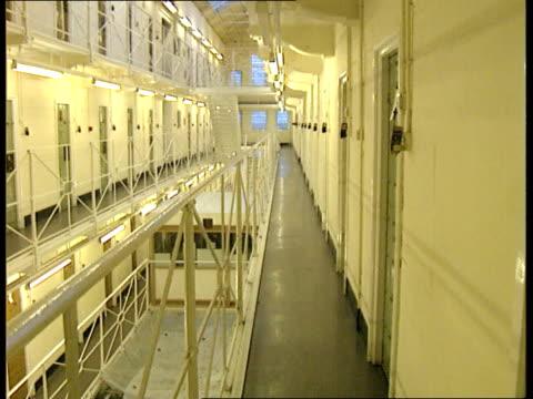 call for stricter conditions itn lib england dartmoor prison prison interiors - dartmoor stock videos & royalty-free footage