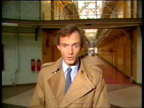 report calls for top-level review into conditions of strangeways prison; via granada news england: greater manchester: manchester: strangeways... - hm prison manchester stock videos & royalty-free footage