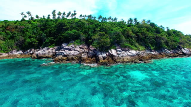 pristine waters of ko racha island thailand. - david ewing stock videos & royalty-free footage