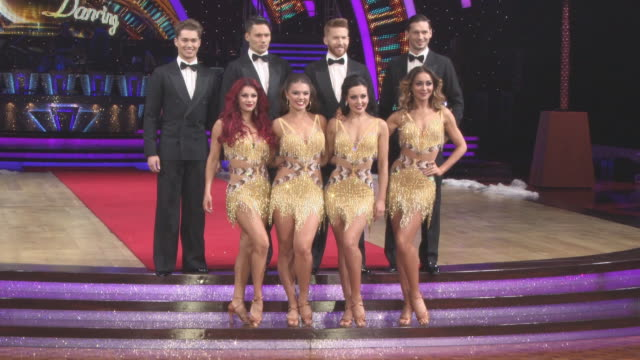 AJ Pritchard Jake Leigh Neil Jones Marius Lepure Dianne Buswell Chloe Hewitt Karen Clifton Amy Dowden Luba Mushtuk at 'Strictly Come Dancing' The...