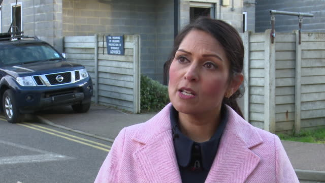 priti patel saying the government will increase sentences for offenders who plan and train for terrorist offences - home secretary stock videos & royalty-free footage