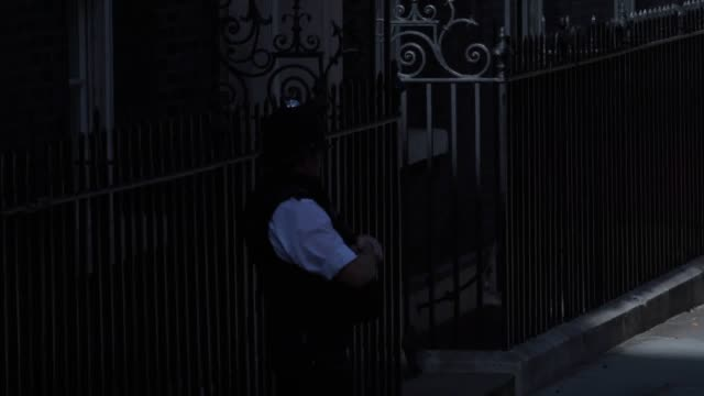priti patel stephen barclay and dominic raab arrive at downing street as boris johnson starts to put together his new cabinet - cupboard stock videos & royalty-free footage