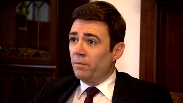 private company pulls out of running nhs hospital / accident and emergency performance figures location unknown int andy burnham mp interview sot... - circle stock videos & royalty-free footage