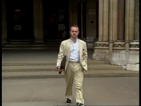 private eye damages payout private eye editor ian hislop leaving court interview ian hislop editor private eye sof - ian hislop stock videos and b-roll footage