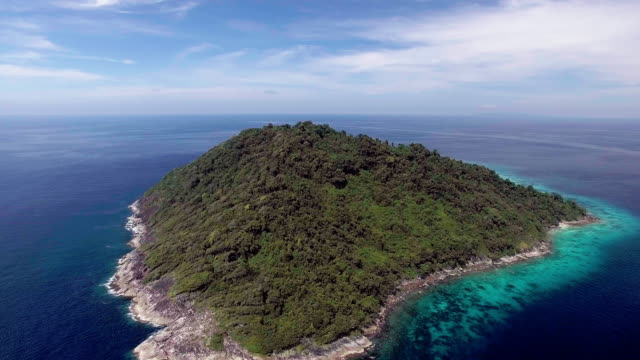a private island, similan islands, thailand - david ewing stock videos & royalty-free footage
