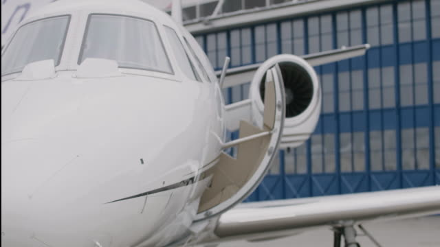 private jet airplane - private jet stock videos & royalty-free footage