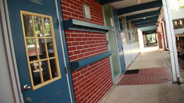 Private School Hallway