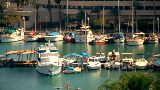 private yacht club in the mediterranean resort - prince stock videos and b-roll footage