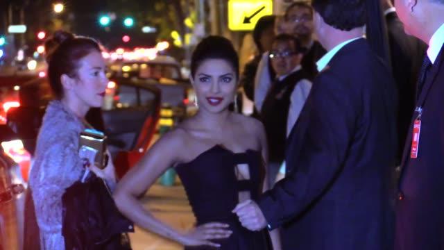 Priyanka Chopra arrives at the Chanel Charles Finch Pre Oscar Dinner in Los Angeles in Celebrity Sightings in Los Angeles