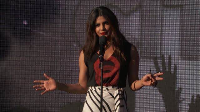 SPEECH Priyanka Chopra at 2016 Global Citizen Festival In Central Park To Solve The World's Biggest Challenges at Central Park on September 24 2016...