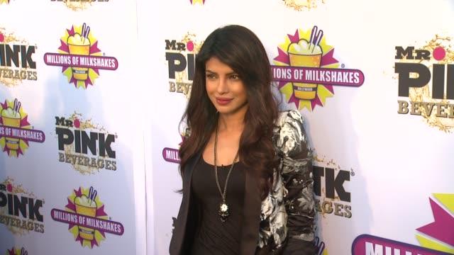Priyanka Chopra at Priyanka Chopra Launches The Exotic Celebrity Milkshake At Millions of Milkshakes on 7/25/2013 in Culver City CA