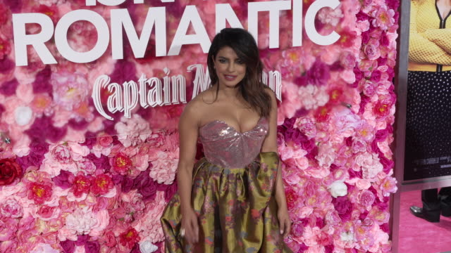 Priyanka Chopra at the 'Isn't It Romantic' World Premiere