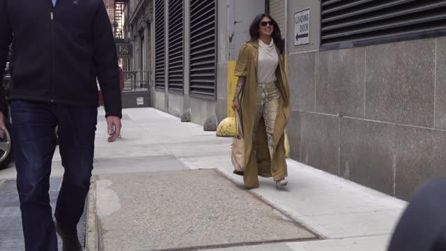 Priyanka Chopra is seen in SoHo on March 19 2019 in New York City