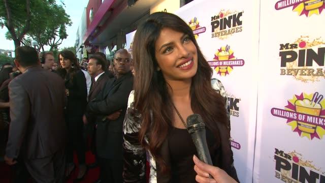 INTERVIEW Priyanka Chopra on the milk shakes and her new album release at Priyanka Chopra Launches The Exotic Celebrity Milkshake At Millions of...