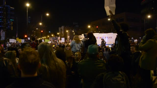 Pro Trump Anti Trump Protesters Clash
