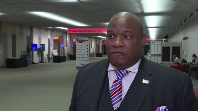 pro trump pastor mark burns says people should stop separating issues into black issues and rather should deal with american issues - pastor stock videos & royalty-free footage