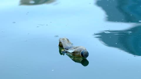 vídeos y material grabado en eventos de stock de problemas con el medio ambiente - botella