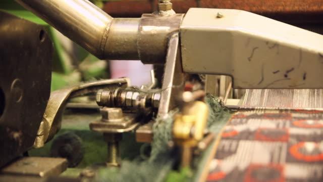CU SELECTIVE FOCUS PAN Process of manufacturing textile at Camira Fabrics Moquette Factory / Lithuania