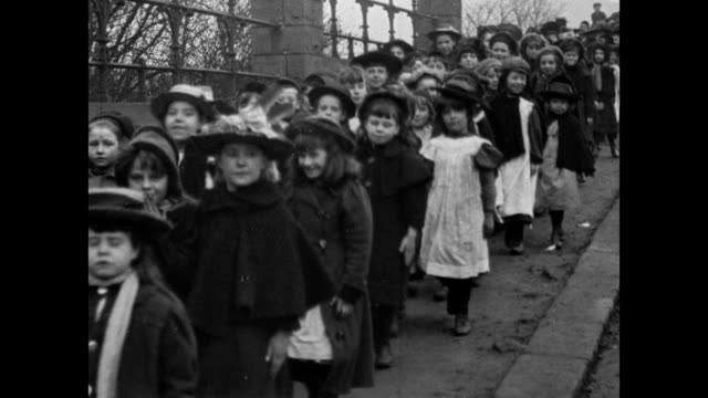 Procession of Rotherham School Children, 1902